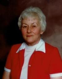 Irene Richard  19282018 avis de deces  NecroCanada