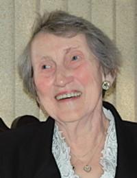 Joan Cecelia Brown  October 1 1920  November 12 2018 avis de deces  NecroCanada