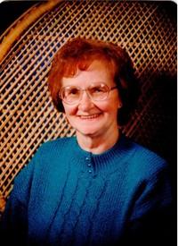 McGary Marion Lillus nee Thompson  2018 avis de deces  NecroCanada