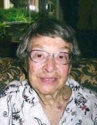 Muriel Lyster  June 14 1922  January 8 2019 avis de deces  NecroCanada
