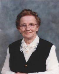Irene Dorthea Huber Kreutzer  December 31 1921  January 20 2019 (age 97) avis de deces  NecroCanada