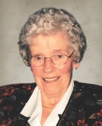 Celina Leblanc Bourdages  1924  2019 (94 ans) avis de deces  NecroCanada