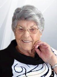 Mme Gilberte Bouchard ST-PIERRE  Décédée le 24 janvier 2019