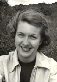 Betty Lou Cruickshank  30 avril 1930