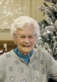 Lillian Marion Dudley nee French  July 18 1923  January 25 2019 avis de deces  NecroCanada