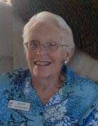 Betty Gertrude Strother Black Diamond  February 27 1924  January 26 2019 avis de deces  NecroCanada