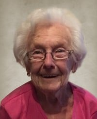Marthe Cadoret Demers  1918  2019 (100 ans) avis de deces  NecroCanada