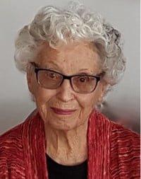 Muriel Grace Hertzog  January 1 1921 – January 29 2019 avis de deces  NecroCanada