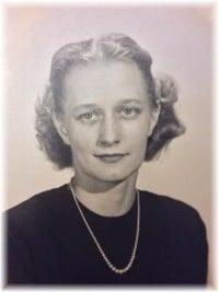 Doris Dagmar Koivu Wallace  19232019 avis de deces  NecroCanada