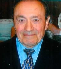 Giulio Mariotti  Sunday March 17th 2019 avis de deces  NecroCanada