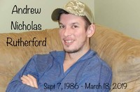 Andrew Rutherford  March 18th 2019 avis de deces  NecroCanada