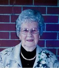 Mildred Ruth Wills  19242019 avis de deces  NecroCanada
