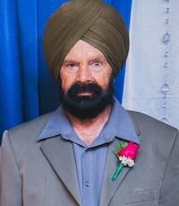 Sardara Singh Saini  Wednesday April 24th 2019 avis de deces  NecroCanada