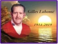 LABONTe Gilles  1934  2019 avis de deces  NecroCanada
