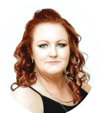 Kristina Marie Harder Hilton  Monday June 10th 2019 avis de deces  NecroCanada