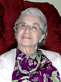 Effie Burgess Cook Barnes nee Harding  January 2 1922 to June 8 2019 avis de deces  NecroCanada