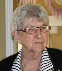 Ruby Edith Bell Robinson  Monday July 15th 2019 avis de deces  NecroCanada