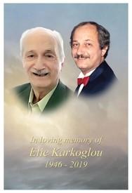 Elie Karkoglou  13 avril 1946