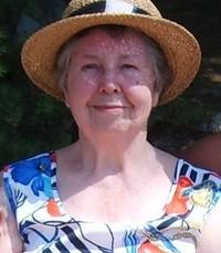 Shirley Irene Hill Thomson avis de deces  NecroCanada