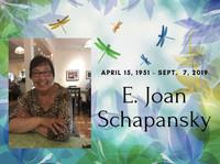 Joan Schapansky avis de deces  NecroCanada