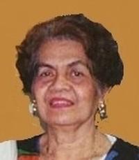 Rosalina De Leon avis de deces  NecroCanada