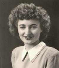 Phyllis Jean Rogers Ford avis de deces  NecroCanada