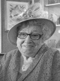 Ruby Florence Mercer nee Richards  June 13 1924 to September 12 2019 avis de deces  NecroCanada