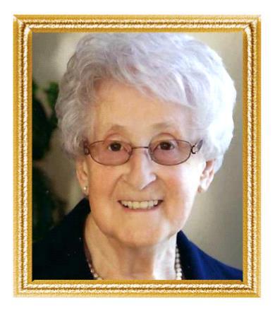 Mme Claire Lussier Marquis  14 avril 1931  23 octobre 2019 avis de deces  NecroCanada