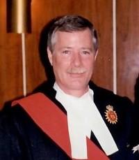 The Honourable Robert  Thompson  November 6 2019 avis de deces  NecroCanada