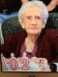 Edna Corneil Needham  February 24 1917  November 10 2019 (age 102) avis de deces  NecroCanada