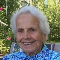Annie Jane Hodgson  August 11 1925  November 10 2019 avis de deces  NecroCanada