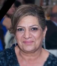 Hanaa Shamo  Monday November 25th 2019 avis de deces  NecroCanada