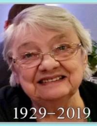 Margaret K Bergmark  2019 avis de deces  NecroCanada