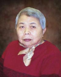 Fenglan Zhu  December 30 2019 avis de deces  NecroCanada