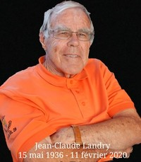Jean-Claude Landry  Tuesday February 11th 2020 avis de deces  NecroCanada