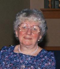 Julia Irene Elizabeth St Amand Laundry  Monday March 9th 2020 avis de deces  NecroCanada