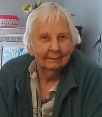 Shirley Irene Emby Jacobsen  Monday April 6th 2020 avis de deces  NecroCanada