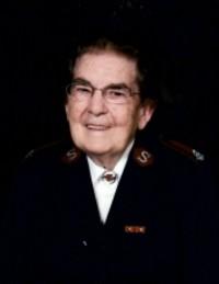 Major Hilda Harvey  2020 avis de deces  NecroCanada