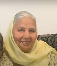 Darshan Kaur Padda  Sunday July 5th 2020 avis de deces  NecroCanada