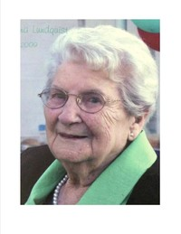 Justina Lundquist  September 24 1919  November 21 2020 (age 101) avis de deces  NecroCanada