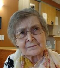 THIESSEN Clara Louise nee Wilson  December 1 2020 avis de deces  NecroCanada