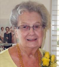 Betty Weaymouth  Tuesday December 8th 2020 avis de deces  NecroCanada