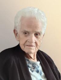 Mme Estelle Belanger BERNIER  Décédée le 11 décembre 2020