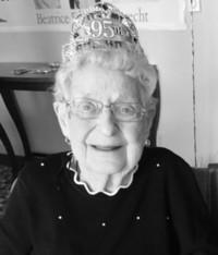 Beatrice Edith Armbrecht  2020 avis de deces  NecroCanada