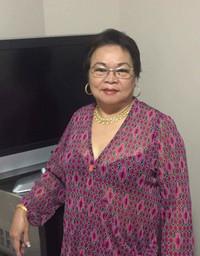 Ma Shirley Aguinaldo Dela Cruz  March 16 1945  December 19 2020 (age 75) avis de deces  NecroCanada