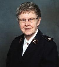 Commissioner Frances Joyce Kerr Knaap  Saturday January 30th 2021 avis de deces  NecroCanada