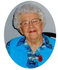 Bernice Almeda Wright  19202021 avis de deces  NecroCanada
