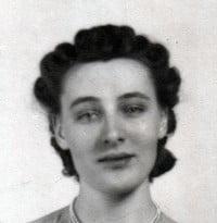 Ella Steinhauer Fudge  March 1 2021 avis de deces  NecroCanada