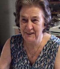 Elizabeth Vera Betty Bartlett Roberts  March 17th 2021 avis de deces  NecroCanada