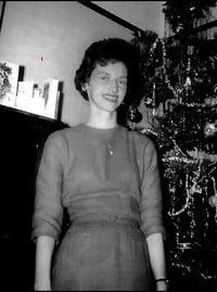 Winnifred Joan Broderick Barbour  September 7 1932 to March 27 2021 avis de deces  NecroCanada